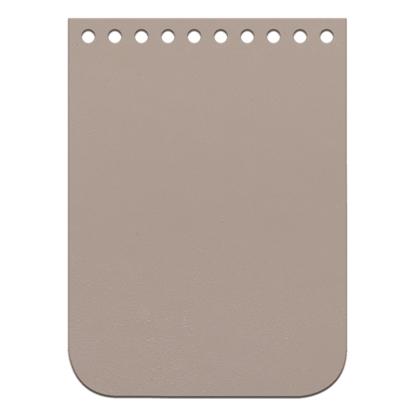 картинка кожаная крышка-клапан для мини сумочки из полиэфирного шнура, цвет: Caramel