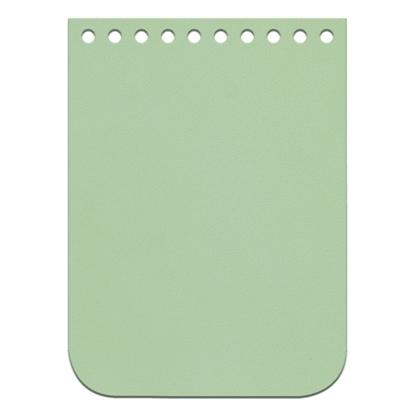 картинка крышка-клапан кожаный для мини-сумки из полиэфирного шнура, цвет: мята