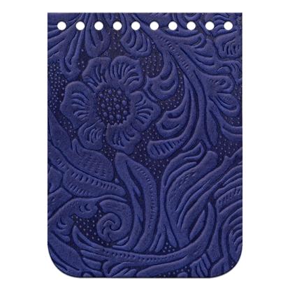 картинка мини-клапан для сумки из натуральной кожи с тиснением, цвет: смородина, размер:11х15см