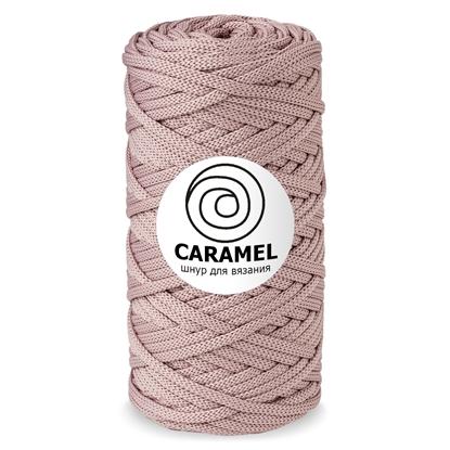 картинка шнуры для вязания крючком в наличии шнур Caramel цвет Роуз, пыльная роза